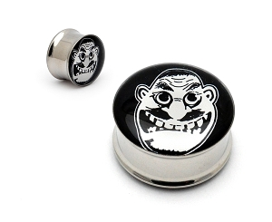 Anthrax Not Man Steel Picture Plugs
