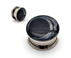 Origin Logo Steel Picture Plugs
