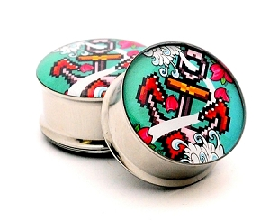 8-bit Anchor Picture Plugs