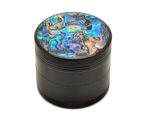Aluminum Alloy 5-piece Embedded Abalone Grinder