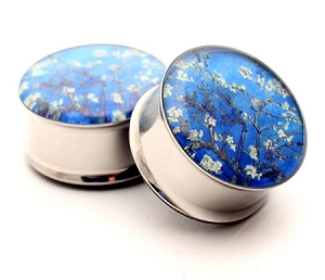 Van Gogh Almond Blossom Picture Plugs