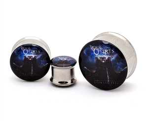 Born of Osiris The Eternal Reign Steel Picture Plugs