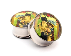 Vintage Cats Picture Plugs