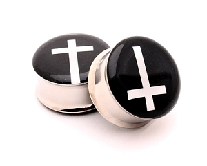 Cross Picture Plugs Style 1