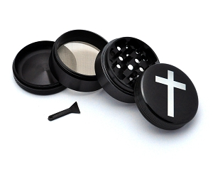 Aluminum Alloy 5-piece Cross Picture Grinder