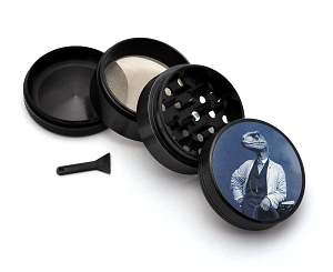 Aluminum Alloy 5-piece Dapper Raptor Picture Grinder