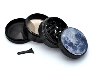 Aluminum Alloy 5-piece Full Moon Picture Grinder