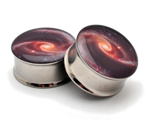 Galaxy Style 2 Picture Plugs