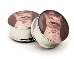 Gentleman Kitty STYLE 3 Picture Plugs