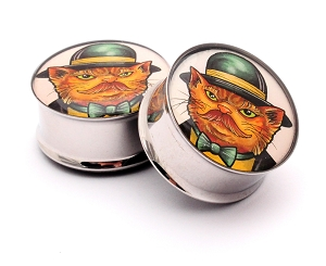 Kitty Go Lucky Picture Plugs