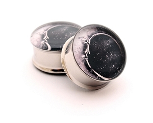 Moon Picture Plugs STYLE #2