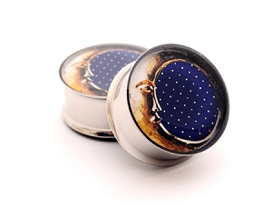 *CLOSEOUT* Moon Picture Plugs STYLE #3