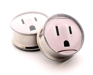 *CLOSEOUT* Outlet Picture Plugs