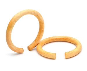 Large Diameter Maple Wood Round Rings