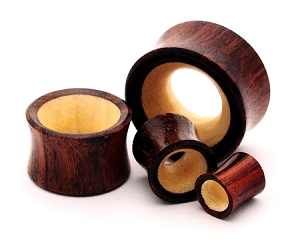 Sono Wood with Crocodile Wood Inlay Tunnels