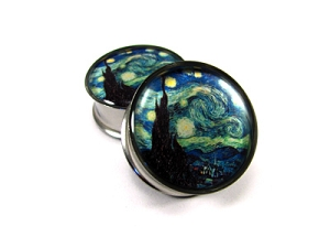 Starry Night Picture Plugs
