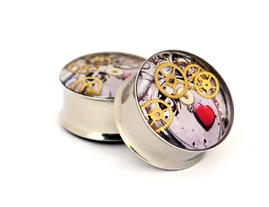 Steampunk Watch Parts Plugs STYLE #5