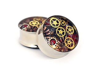 Steampunk Watch Parts Plugs STYLE #6