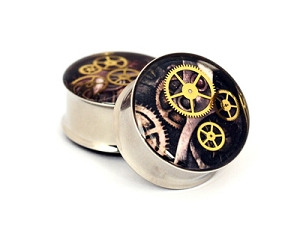 Steampunk Watch Parts Plugs STYLE #7