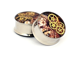 Steampunk Watch Parts Plugs STYLE #8
