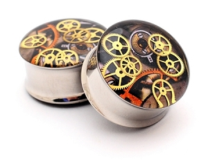 Steampunk Watch Parts Plugs STYLE #9