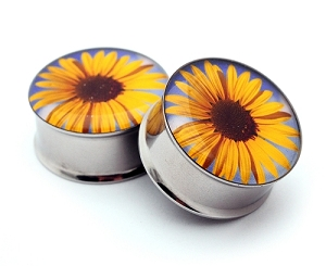 Sunflower Picture Plugs