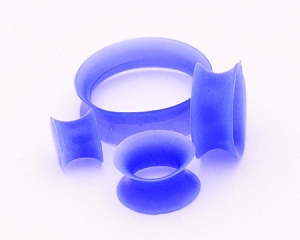 Thin-walled Blue Silicone Tunnels