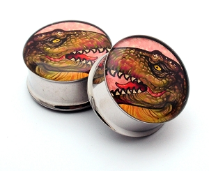 T-Rex Style 2 Picture Plugs