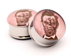 Zombie Abe Picture Plugs