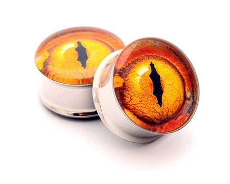 Eyeball Picture Plugs STYLE #12