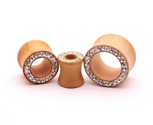 Maple Wood Tunnels with CZ Rim