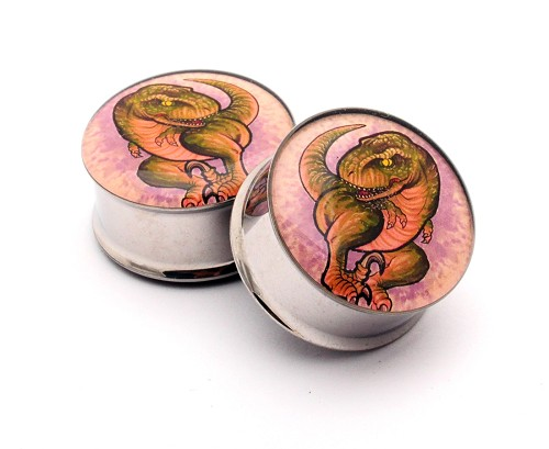 T-Rex Style 1 Picture Plugs