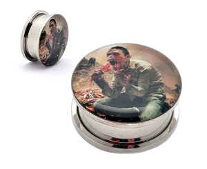 Cattle Decapitation Monolith of Inhumanity Steel Picture Plug