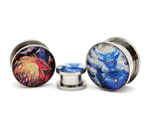 Rings of Saturn Lugal Ki En Artwork Picture Plugs