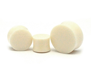 Buffalo Bone Double Flare Plugs
