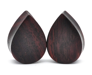 Sono Wood Teardrop Plugs