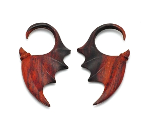 Sono Wood Bat Wing Hangers