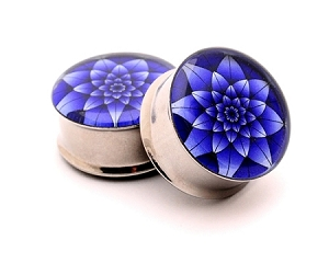 Blue Lotus Picture Plugs