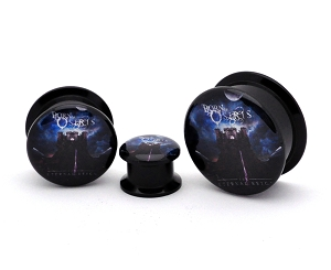 Black Acrylic Born of Osiris The Eternal Reign Picture Plugs