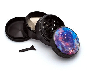 Aluminum Alloy 5-piece Galaxy Picture Grinder