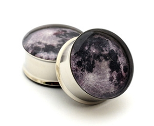 Full Moon Picture Plugs