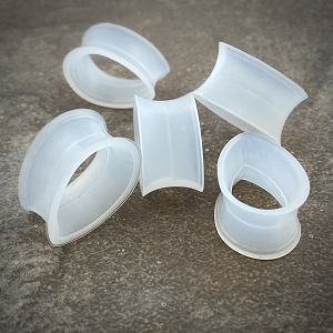 Clear Silicone Teardrop Tunnels
