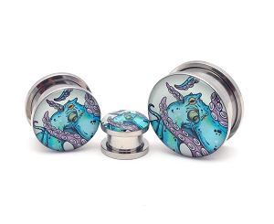 Octopus Style 2 Picture Plugs