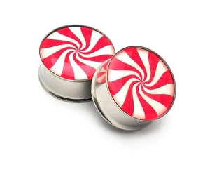 Peppermint Picture Plugs