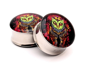 Reaper Owl Picture Plugs