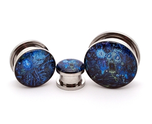 Rings of Saturn Dingir Picture Plugs