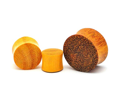 Jackfruit Wood Double Flare Plugs