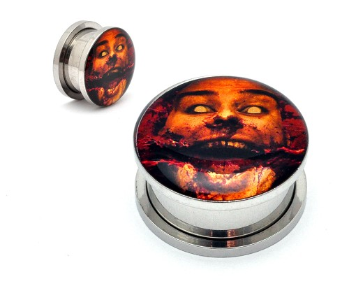 Chelsea Grin EP Steel Picture Plugs
