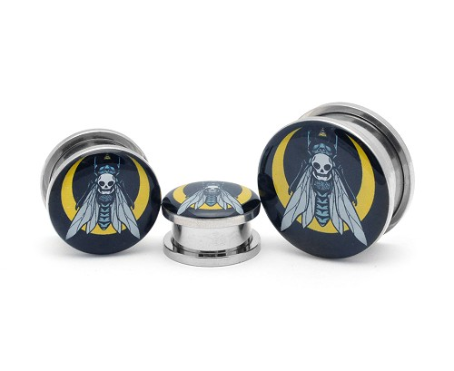 Death Fly Picture Plugs