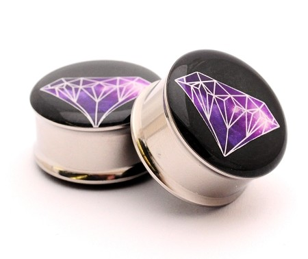 Galaxy Diamond Picture Plugs